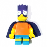 Lego The Simpsons Bartman  minifigure series 2